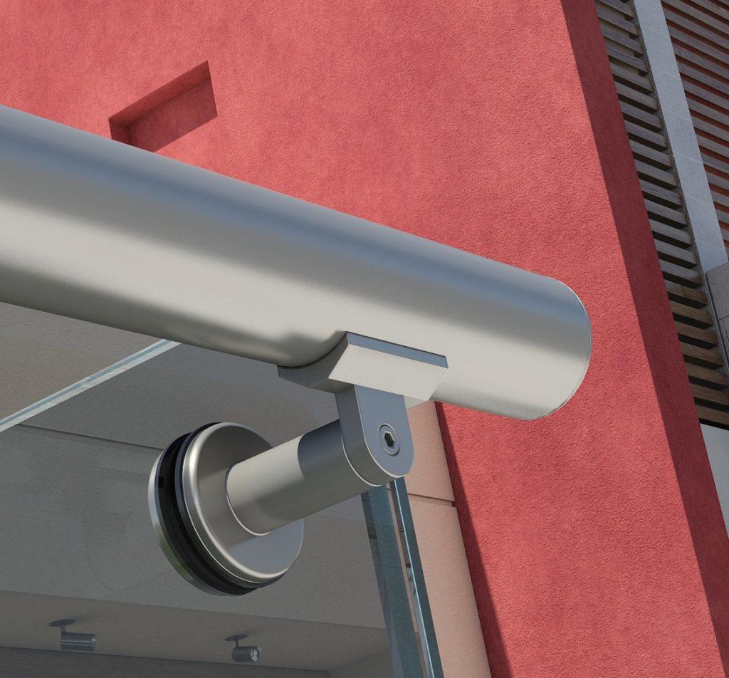 Крепления для перил ограждения для балконов, лестничные ограждения, ограждения из стекла